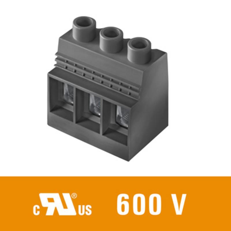 50 mm² (AWG 1) - Raster 15,00 mm - LXXX 15.00 mit Prüfabgriff