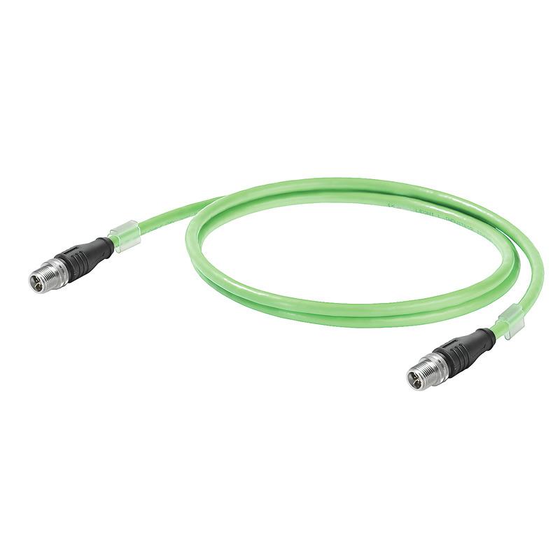 Anschlusskabel Cat.6<sub>A</sub> PVC - M12 X-Type