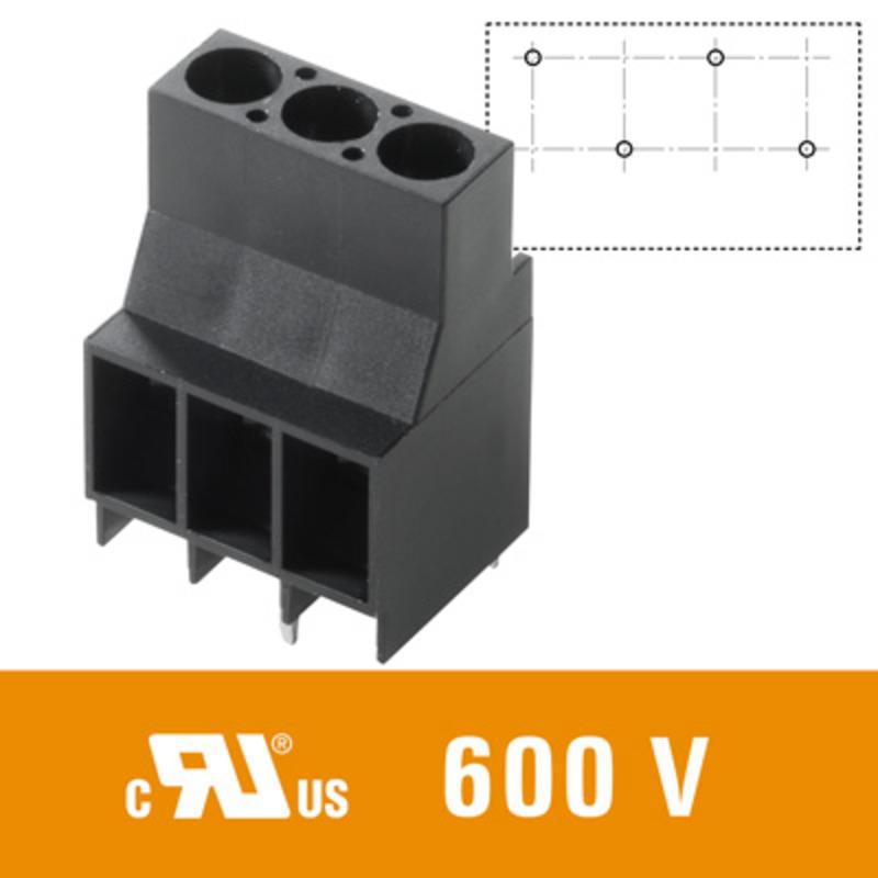 6 mm² (AWG 10) - Raster 6,35 mm - LL 6.35
