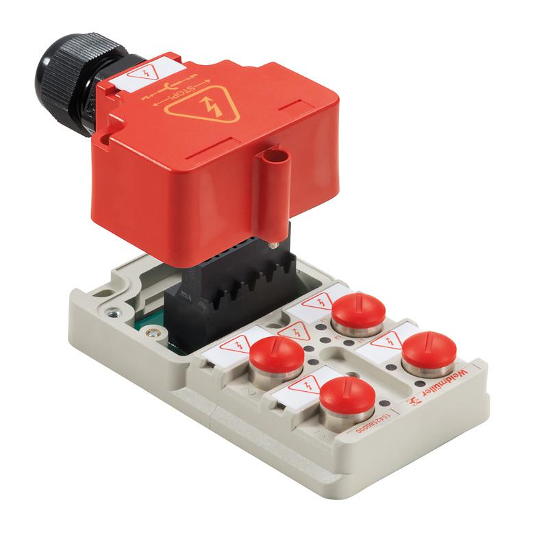 Sensor-Aktor power distributors