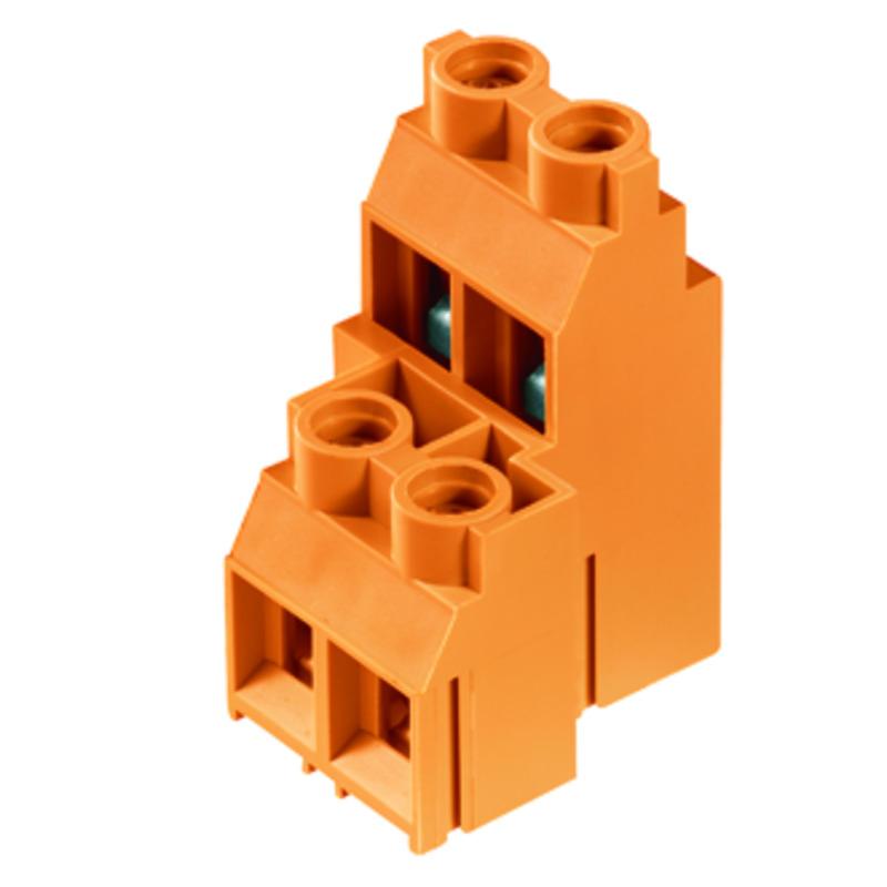 6 mm² (AWG 10) - Raster 9,52 mm - LL 9.52 mehrstöckig