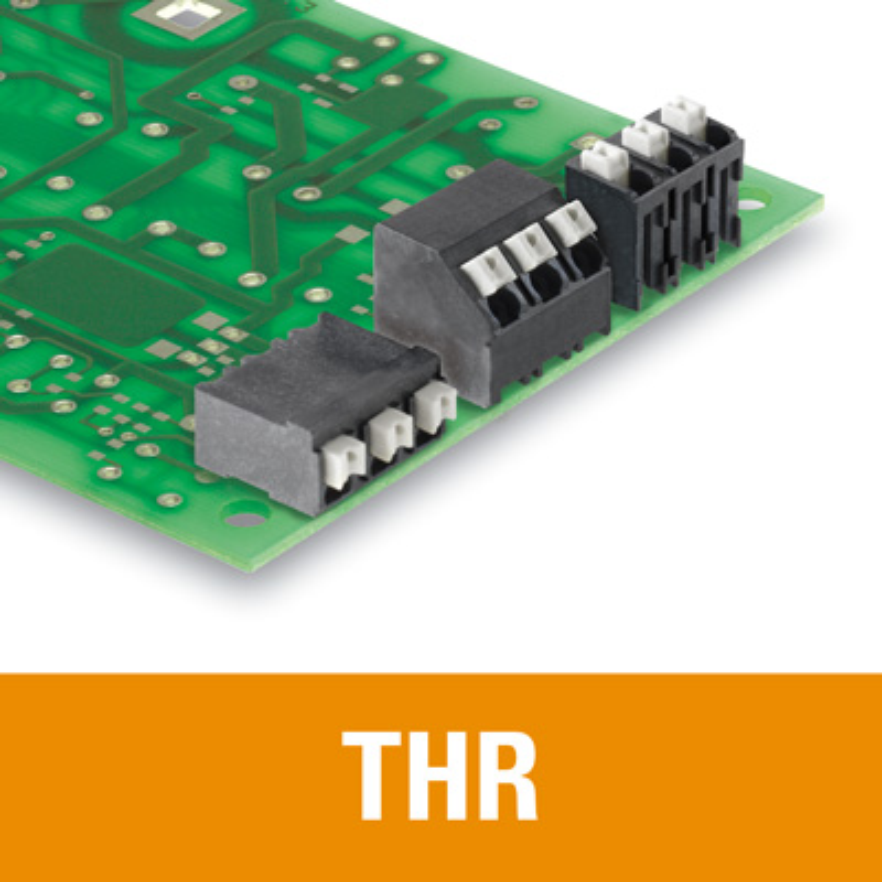 1.5 mm² (AWG 16) - Raster 3.50 / 3.81 mm - THR Reflow-Lötanschluss - LSF-SMT 3.50 / 3.81