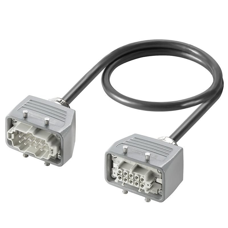 Heavy duty connectors assemblies