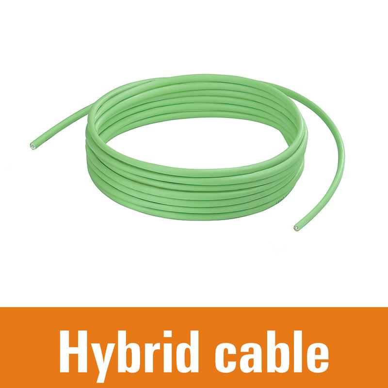 Bulk stock - hybrid cable