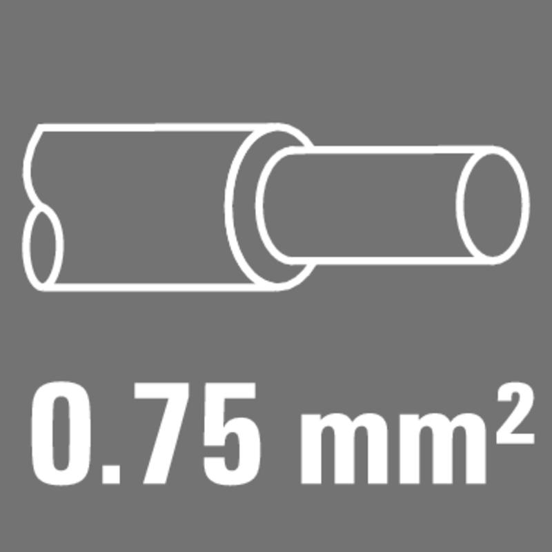 Leiter-Nennquerschnitt 0,75 mm²