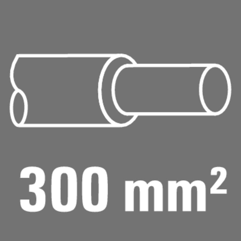 300 mm²