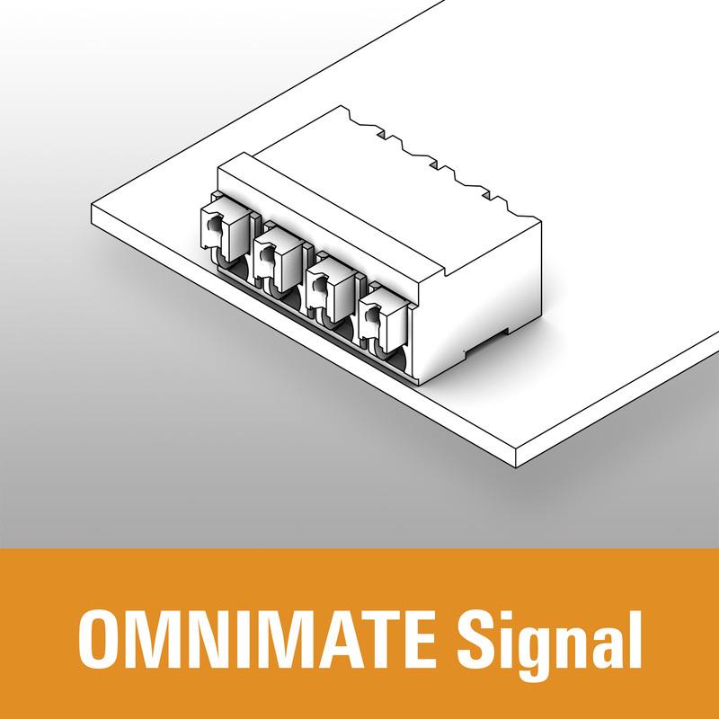 Leiterplatten-Klemmen - OMNIMATE Signal