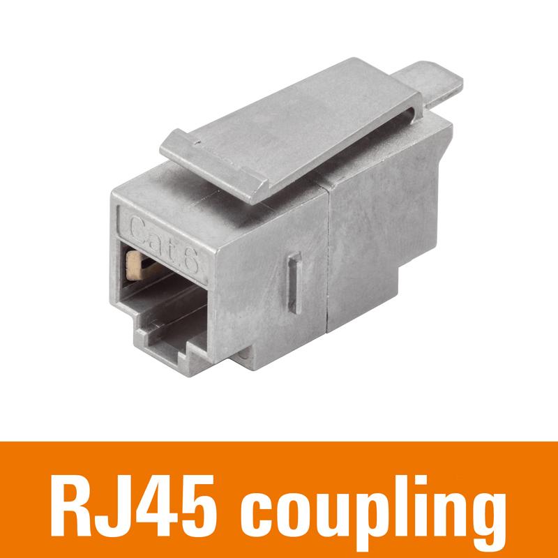 RJ45 coupling / module
