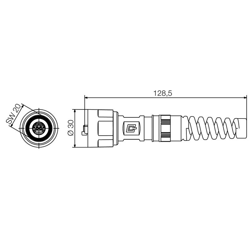 IE-PS-V01P-RJ45-FH-BP