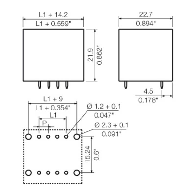 SCD 3.81/10/180F 3.2SN OR BX