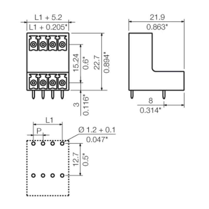 SCDV 3.81/24/90G 3.2SN OR BX