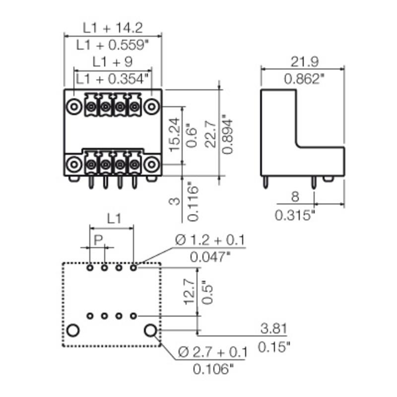 SCDV 3.81/16/90F 3.2SN OR BX