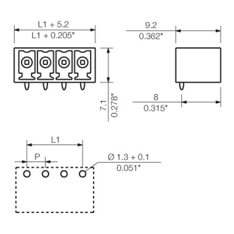 SC-SMT 3.81/07/270G 3.2SN BK BX