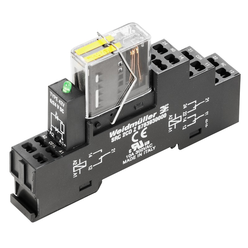 RIDERSERIES FG - Relay modules with positively driven contacts