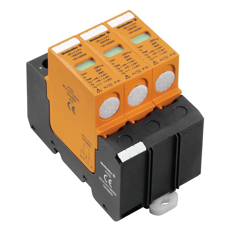 Photovoltaik, 600 V; 1000 V; 1200 V und 1500 VDC