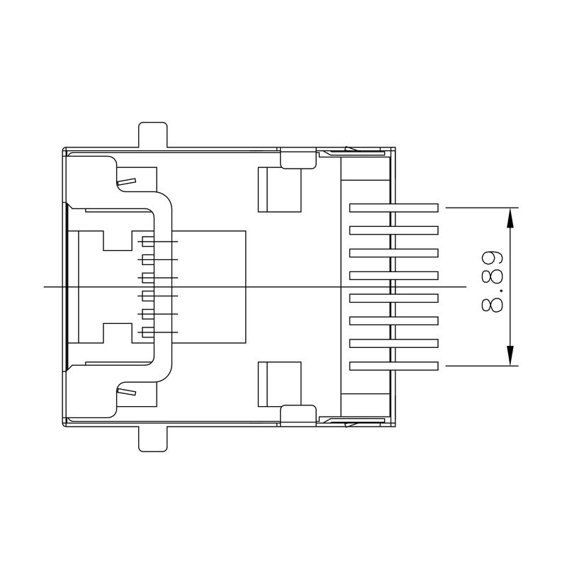 RJ45C5 S1D 2.7N4N RL