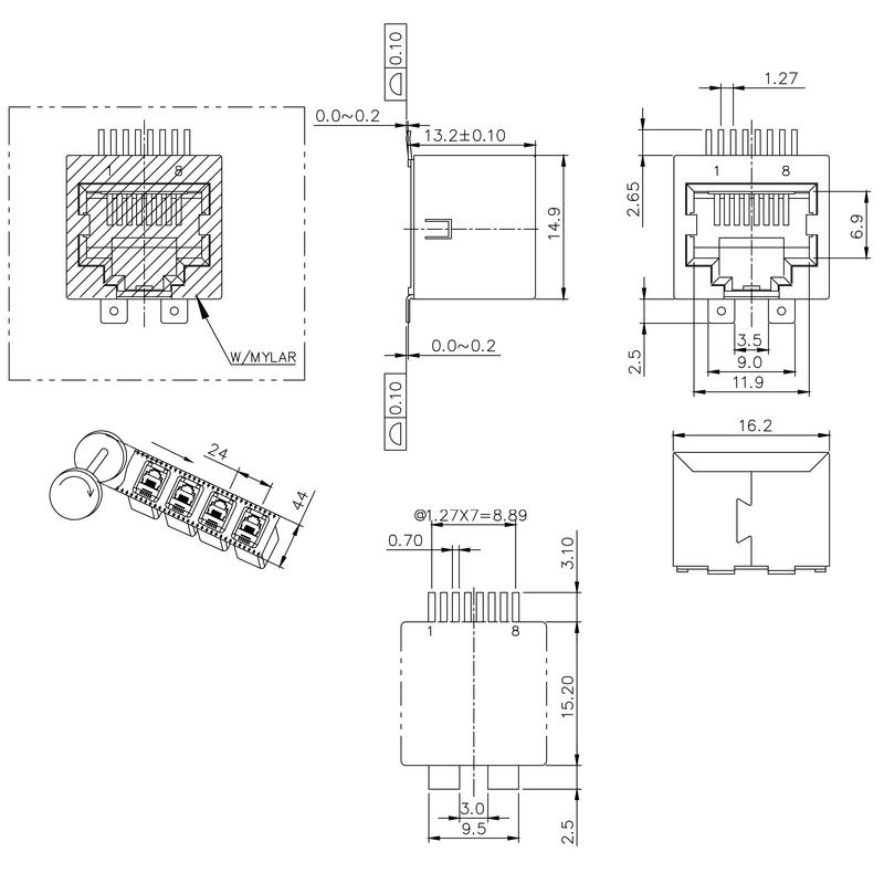 RJ45C5 S1V 2.7N4N RL