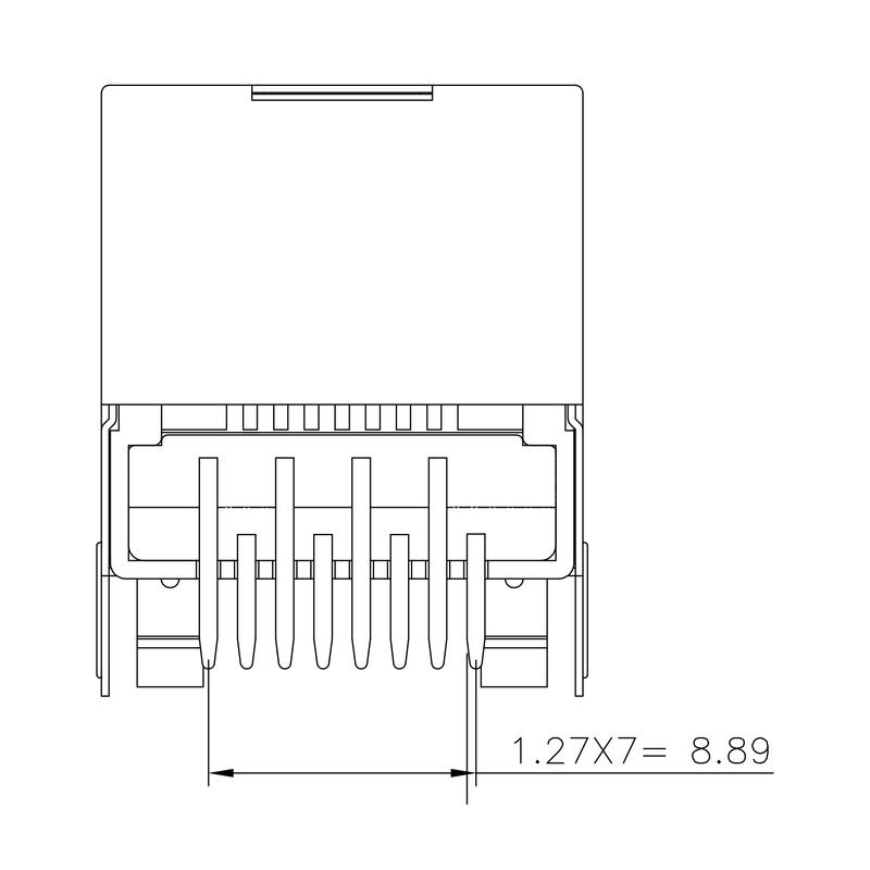 RJ45C6 T1U 2.7N4N TY