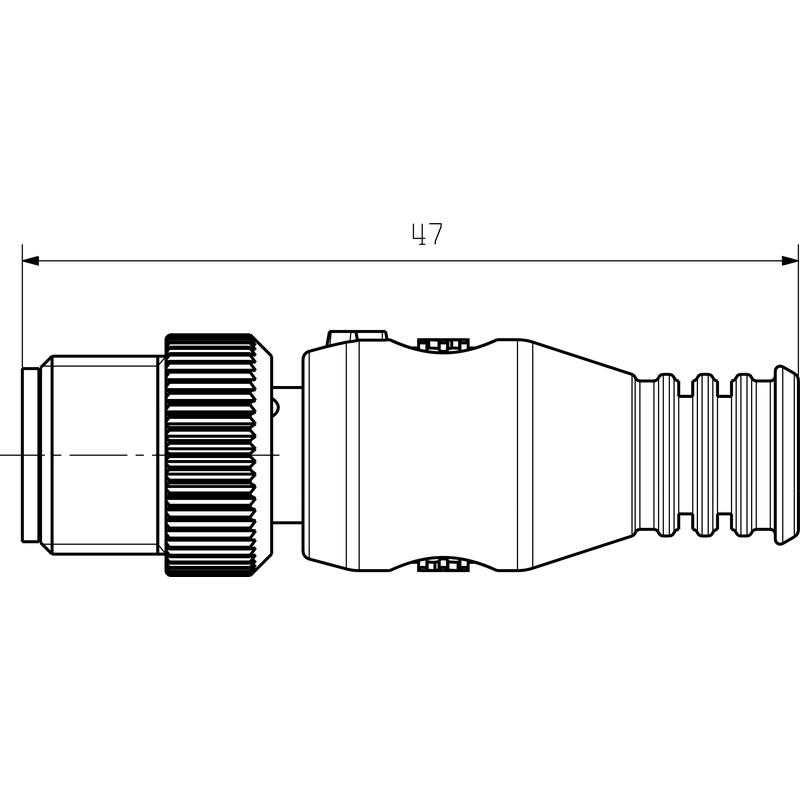 SAIEND CAN-M12 5P A-COD