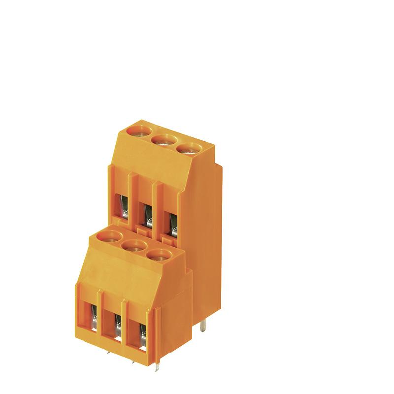6 mm² (AWG 12) - Raster 5,00 / 5,08 mm - LL 5.00 / 5.08 mehrstöckig