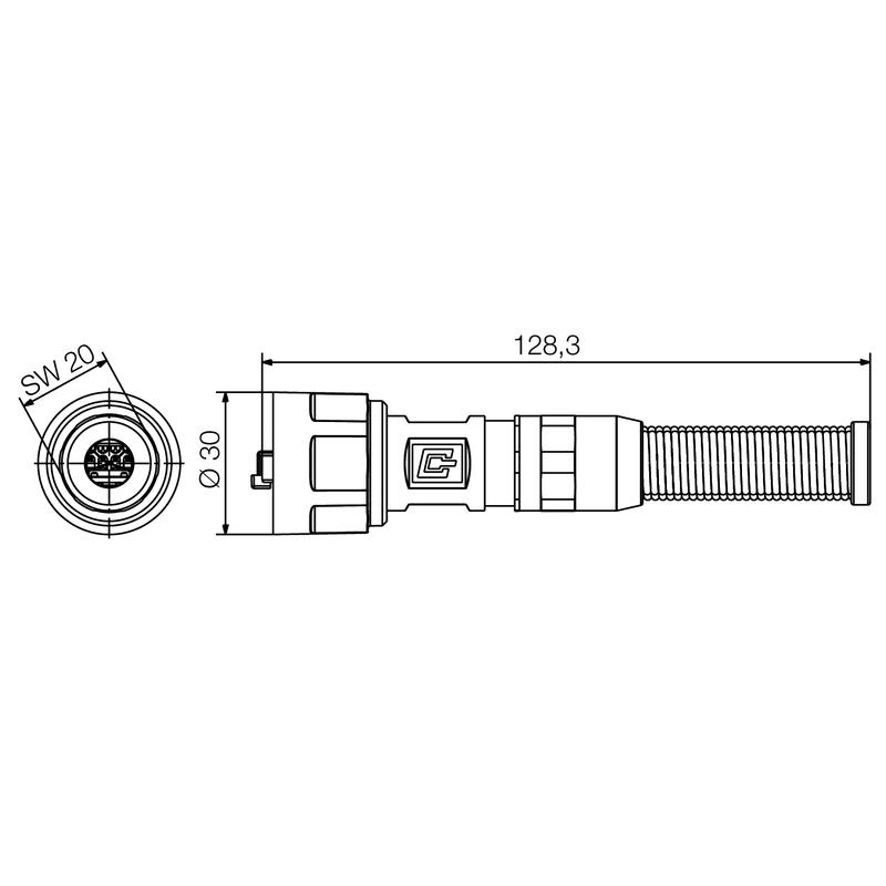 IE-PS-V01M-RJ45-TH-BP