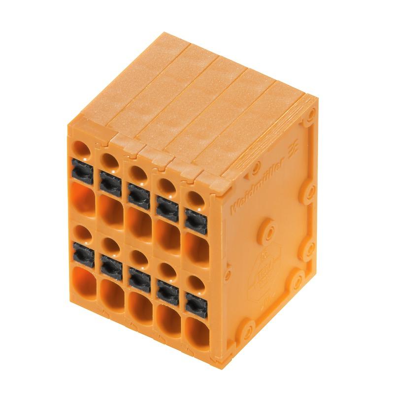 1.5 mm² (AWG 16) - Raster 3.50 mm - THT Wellen-Lötanschluss - LS2HF 3.50 - mehrstöckig