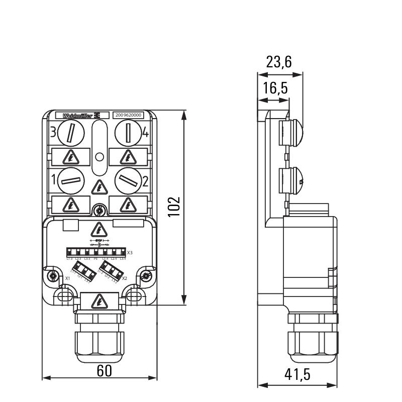 SAI-4-M-MVV-M12 1:1