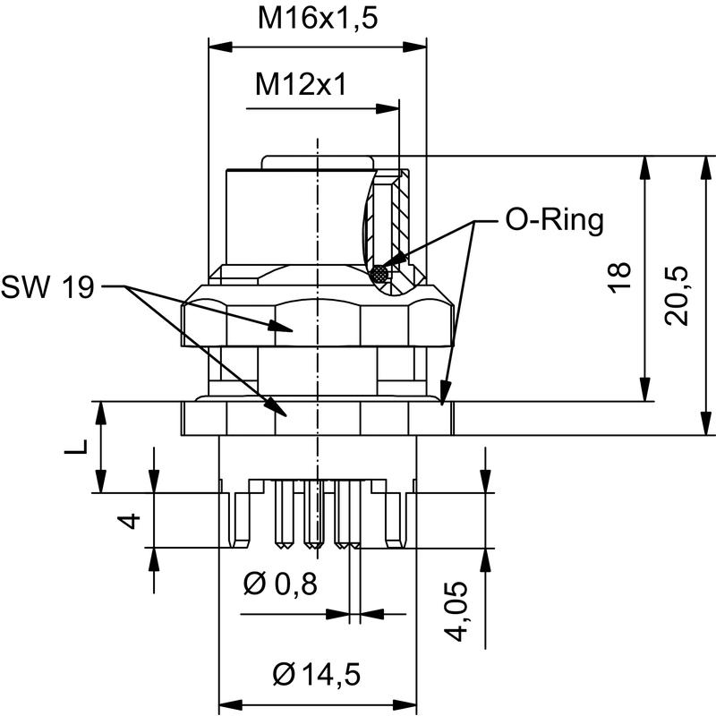 SAIE-M12B-8S-H6.75TL