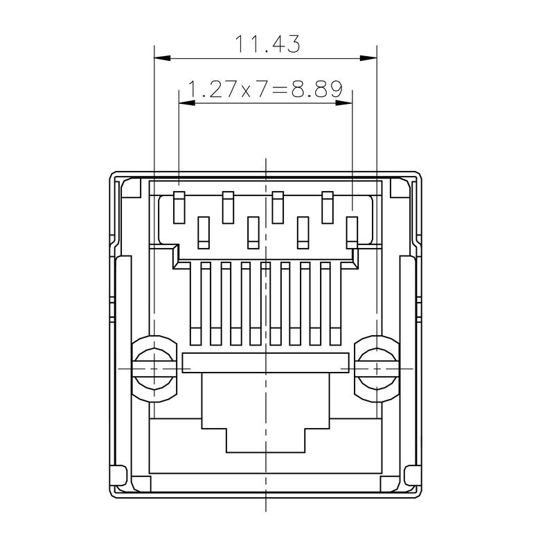RJ45C5 T1V 4.0N4N TY