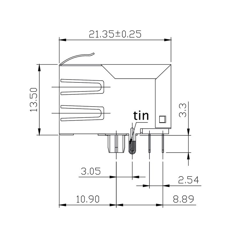 RJ45M T1D 3.2E4N TY