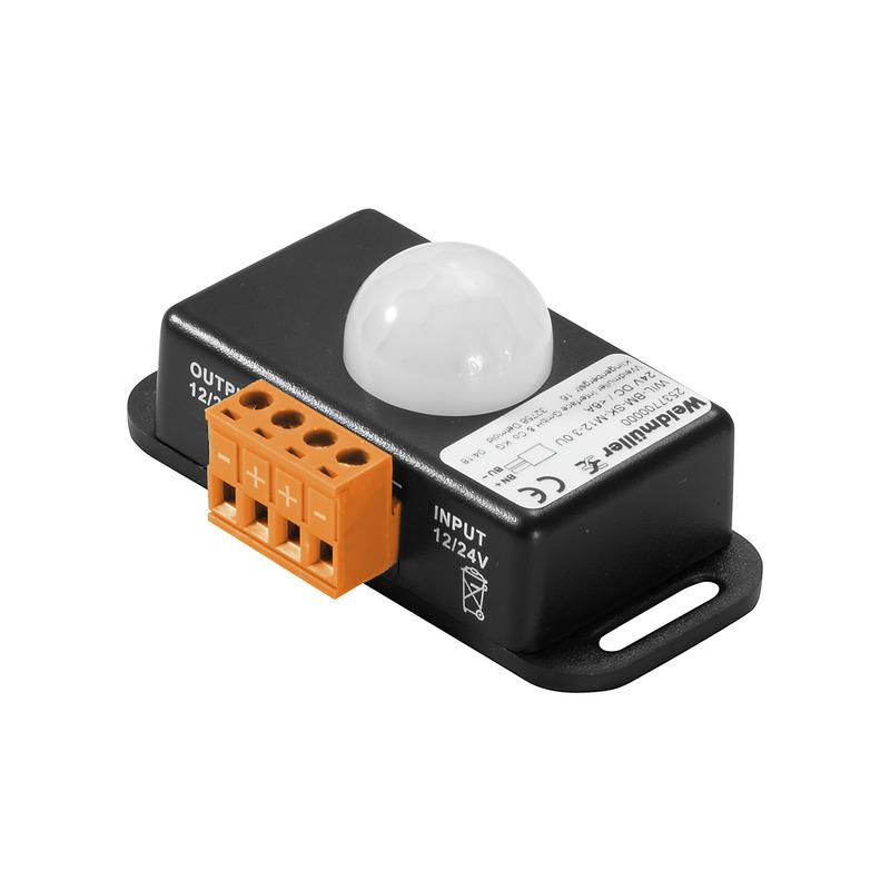 Motion sensor screw connection