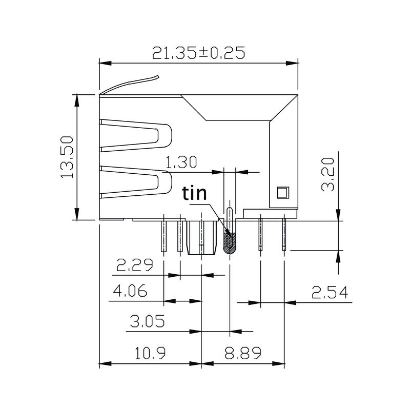 RJ45G1 R12D 3.3E4G/Y TY