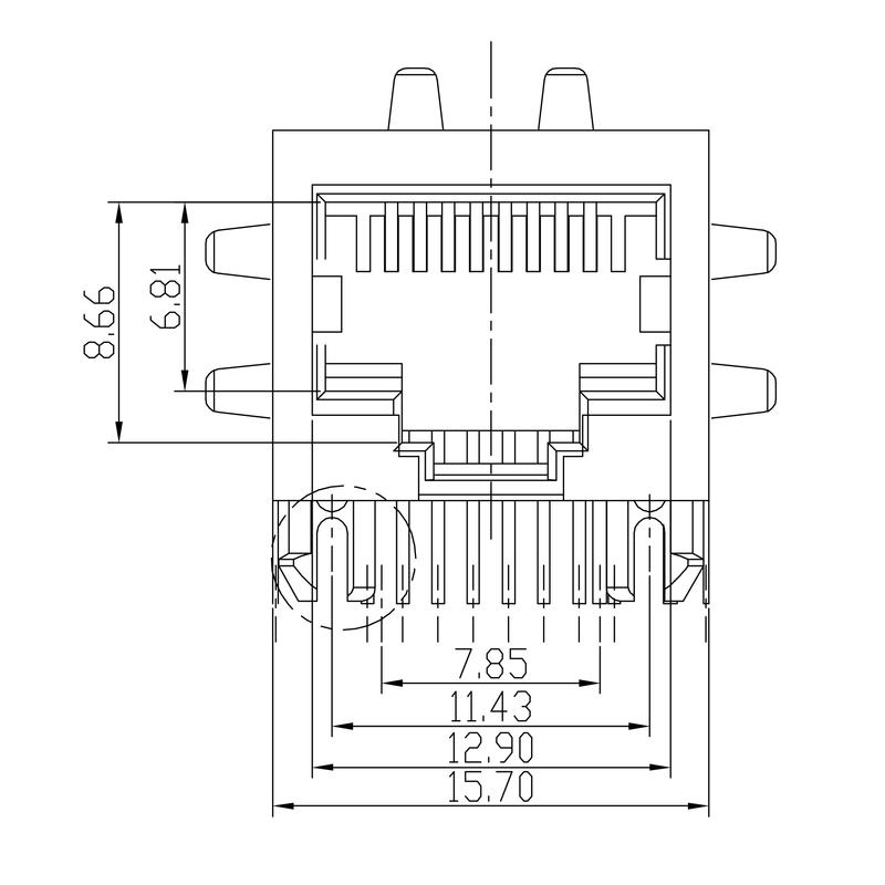 RJ45C5 T1D 3.3E4N TY