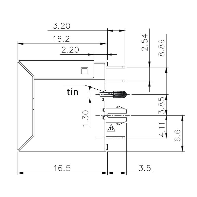 RJ45C5 T1V 3.2N4G/Y TY