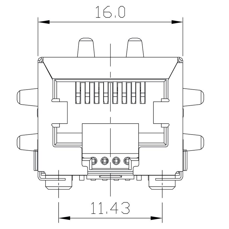 RJ45M S1D DE4N RL
