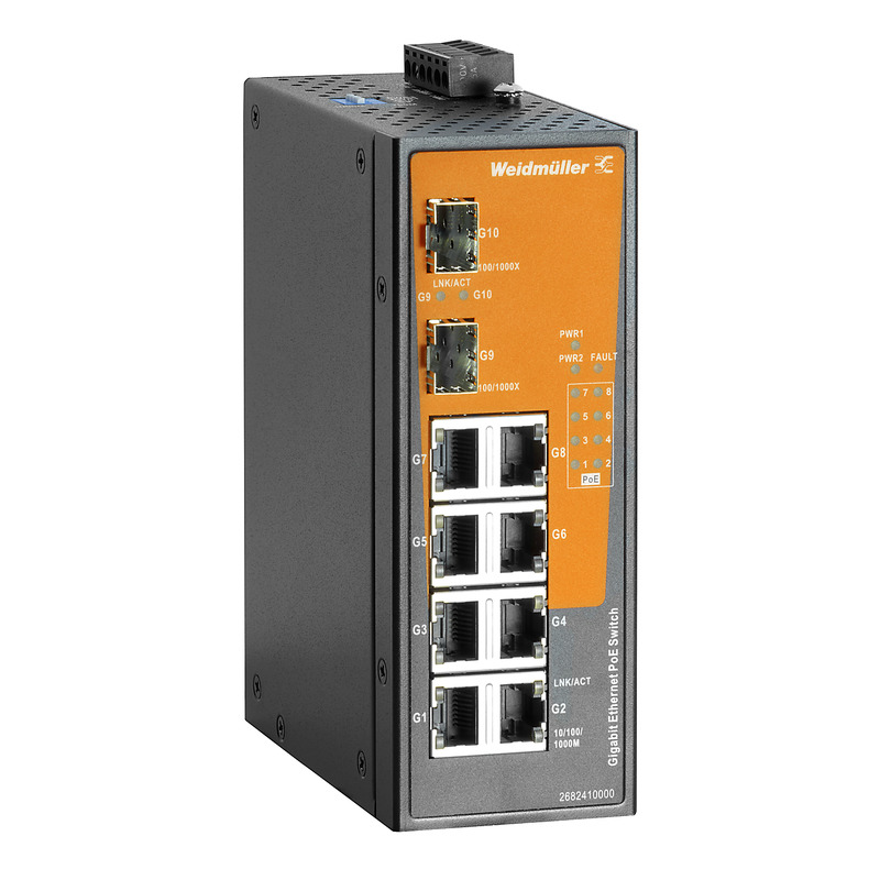 EcoLine Power-over-Ethernet unmanaged switches/injectors
