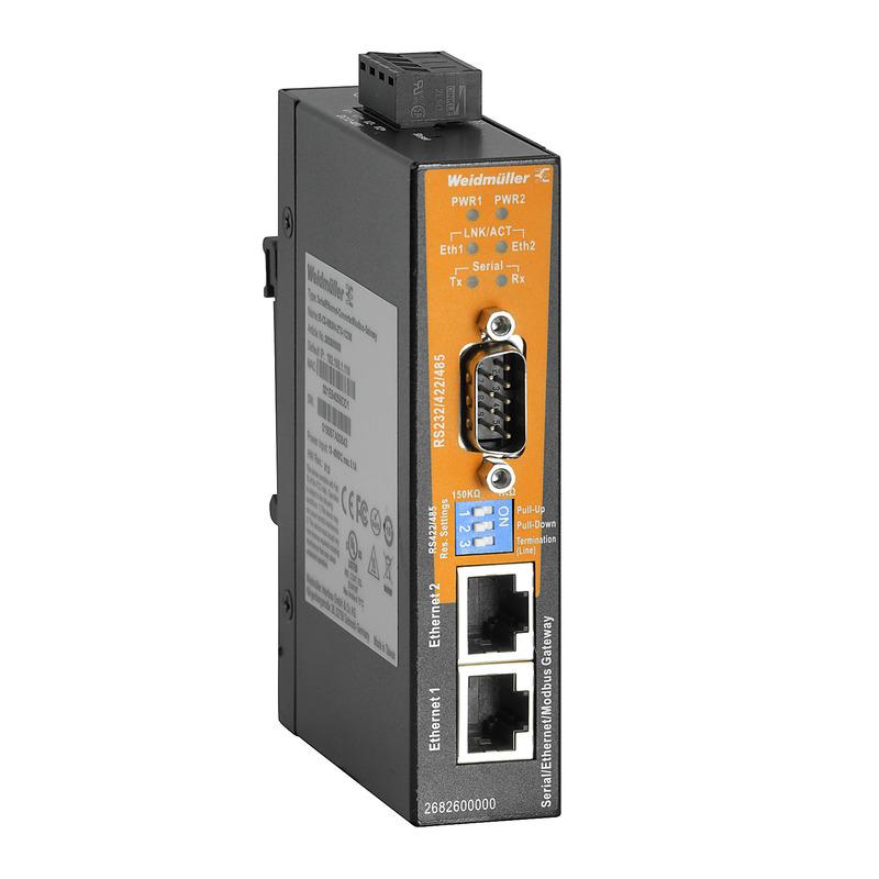 Seriell-Ethernet-Konverter und Modbus TCP/RTU Gateway