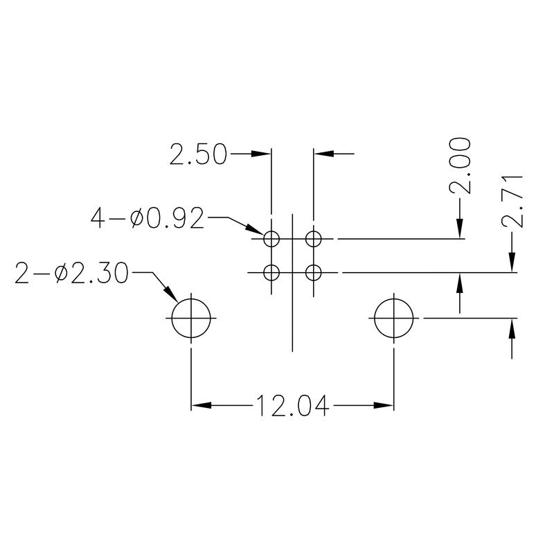 USB2.0B T1H 2.8N4 TY BK