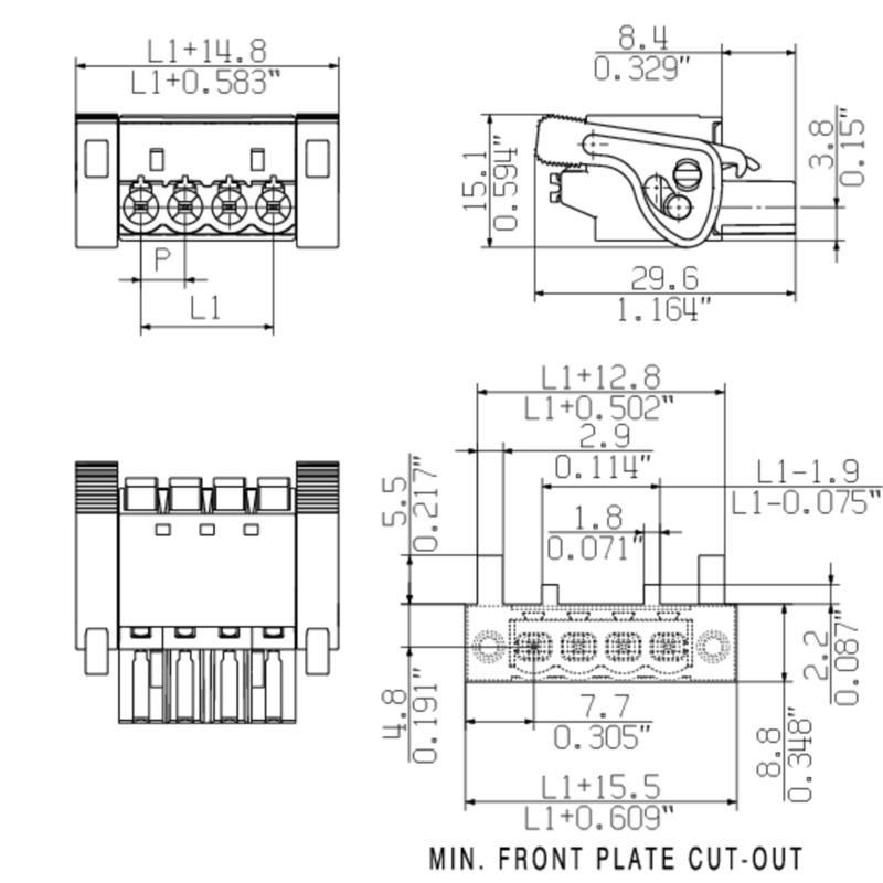 BLF 5.00HC/15/180LR SN OR BX