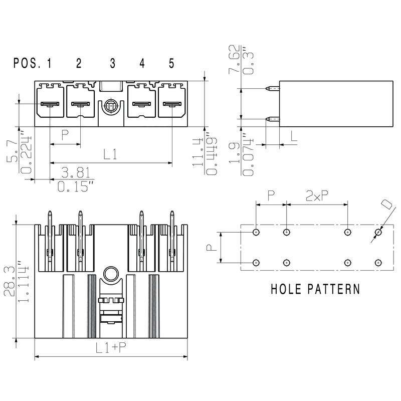 SV 7.62HP/03/180MF3 3.5SN BK BX