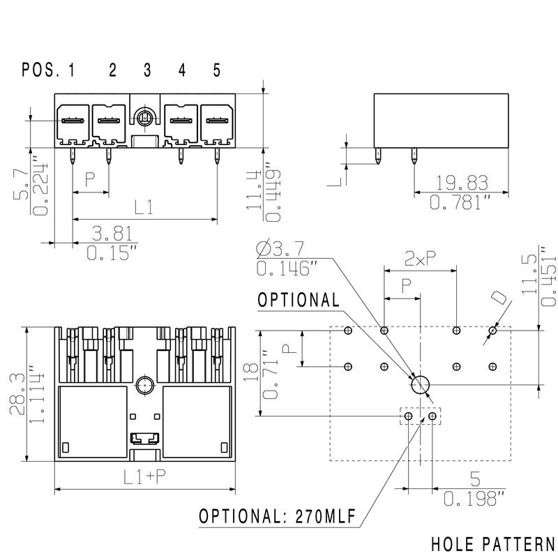 SV 7.62HP/05/270MF4 3.5SN BK BX
