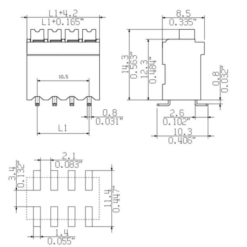 LSF-SMD 3.50/06/180 SN BK RL