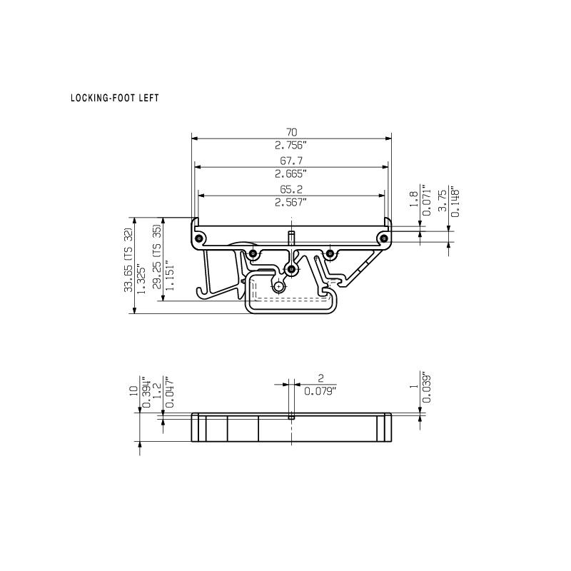 RF RS 70 LI/A2/O.SG OR 1665
