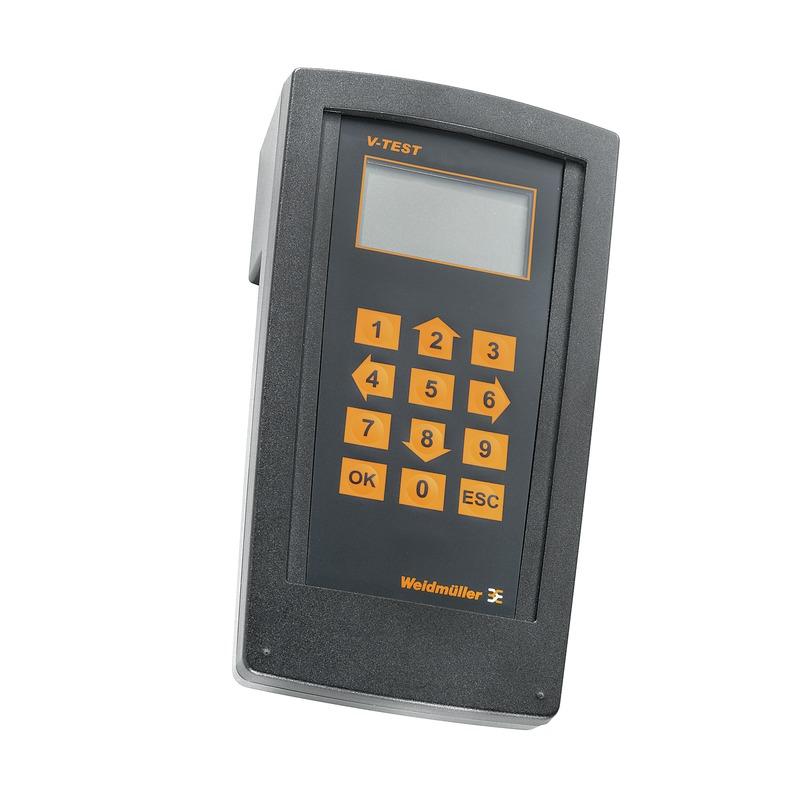 Prüfgerät V-TEST für die VSPC Serie sowie für PU I und PU II Serie