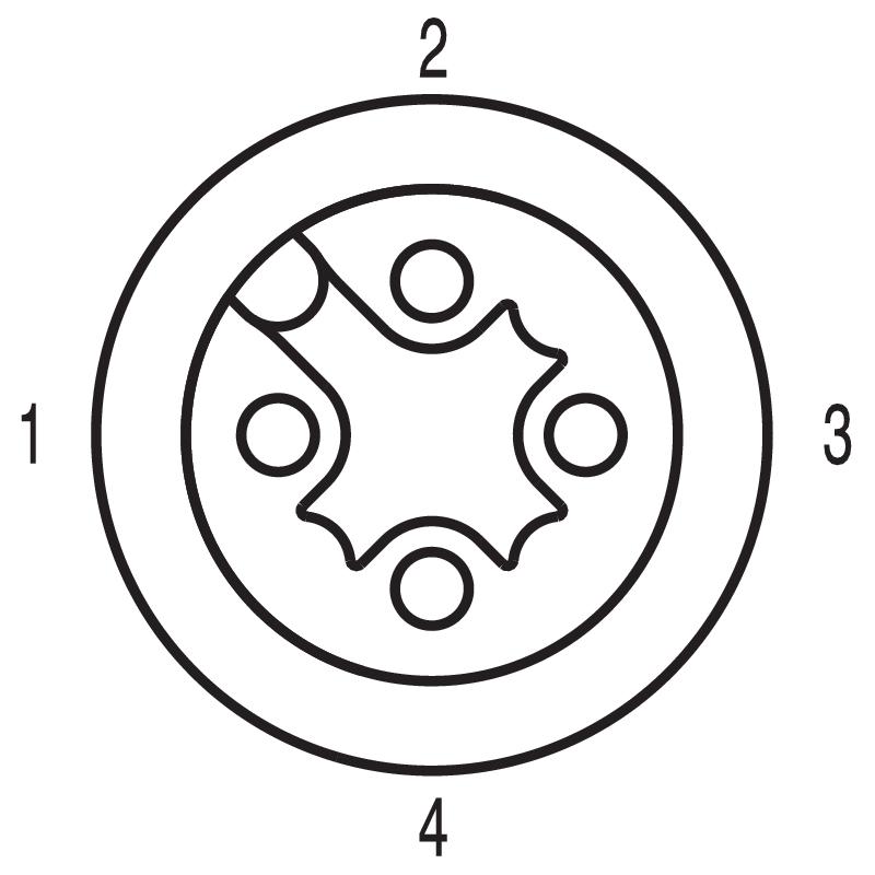 SAIE-M12B-4S-TL-HW-PG9