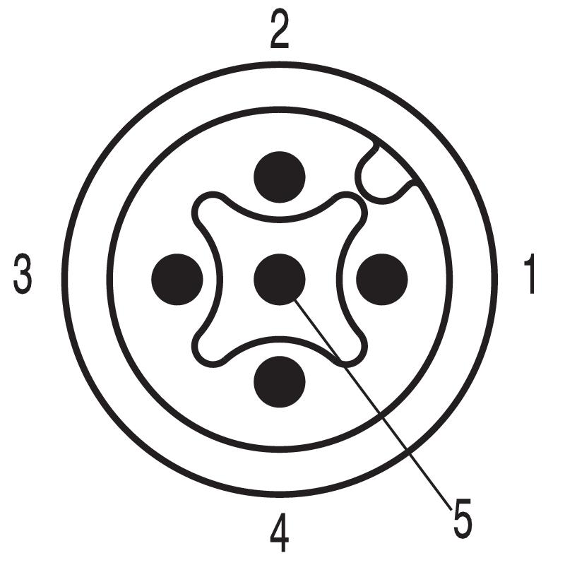 SAIE-M12S-5-0.2U P9 .75
