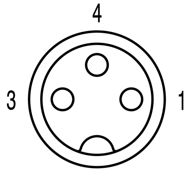 SAIE-M8R-3-0.5U-FP-M8