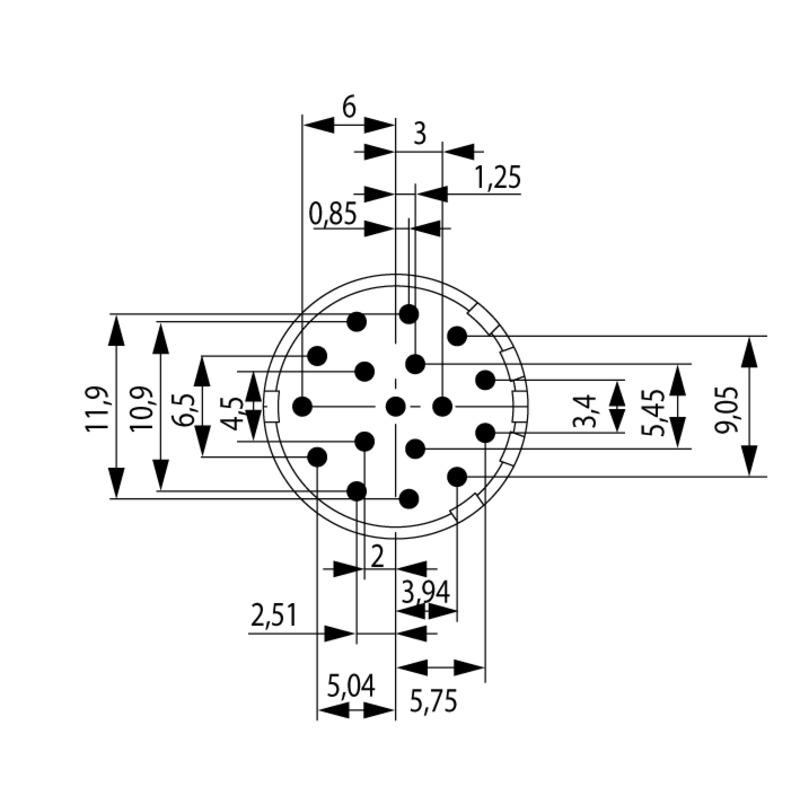 SAI-M23-SE-17-3.5MM-G