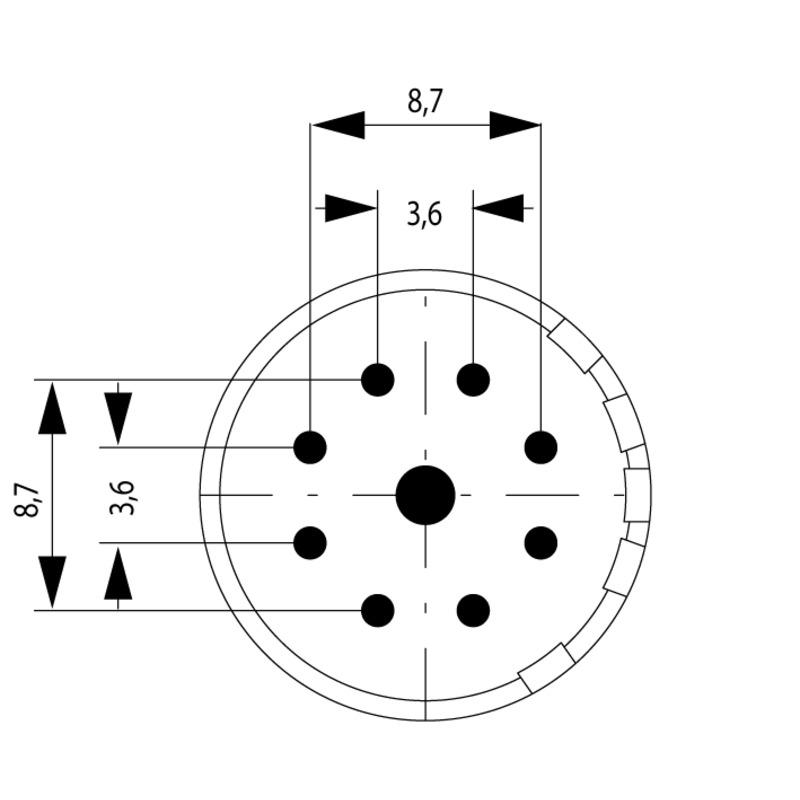 SAI-M23-SE-9-17MM