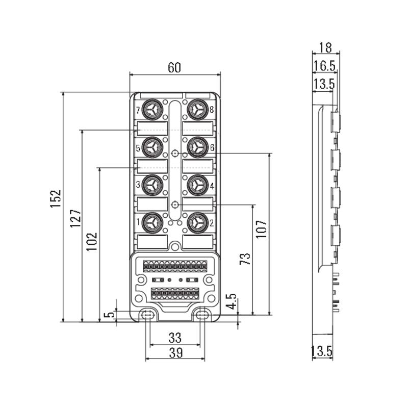 SAI-4-M 3P IDC UT